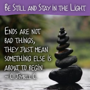 Be Still and Stay in the Light Ends | Dominican Center | Grand Rapids, MI